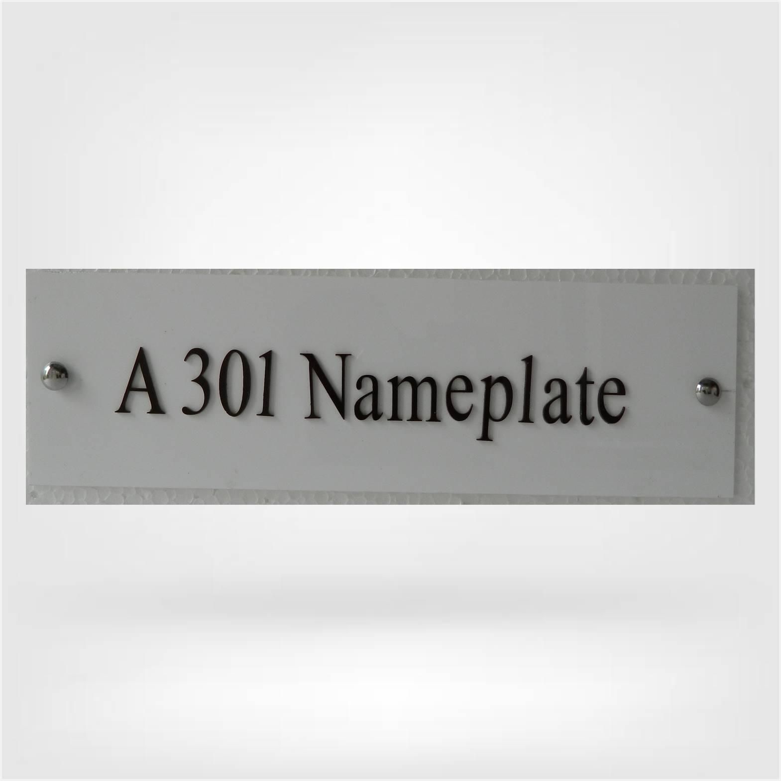 Npw2026 Basic Name Plate Nameplateworld
