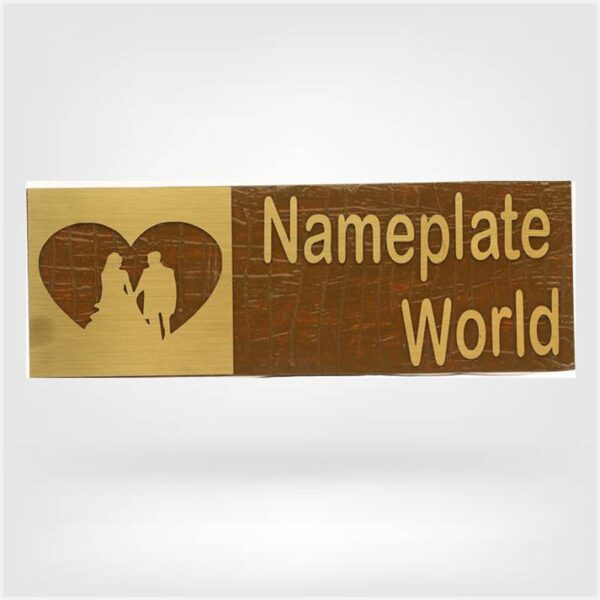 Nameplate with Heart