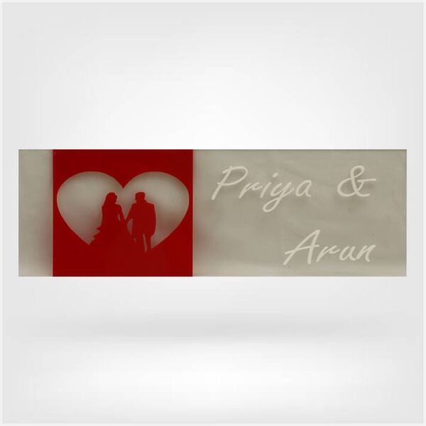 Nameplate For Couple